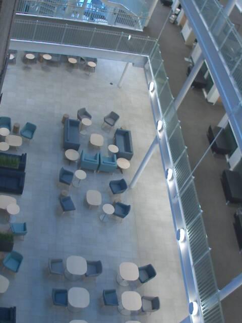 image of the Beatty Center Atrium